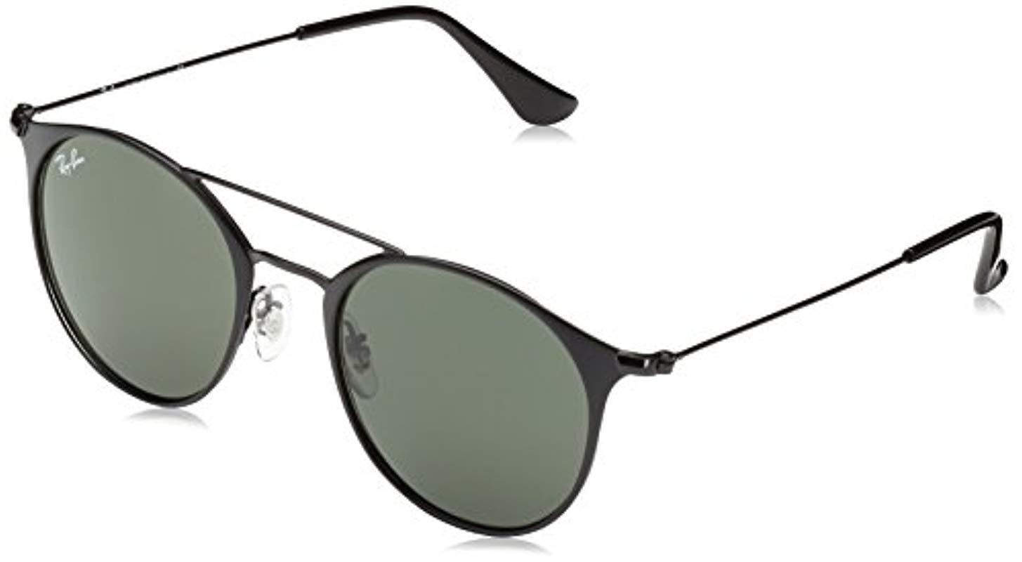 0fb474c69e06cf Ray-Ban 3546 Sole Sunglasses Unisex in Black for Men - Lyst
