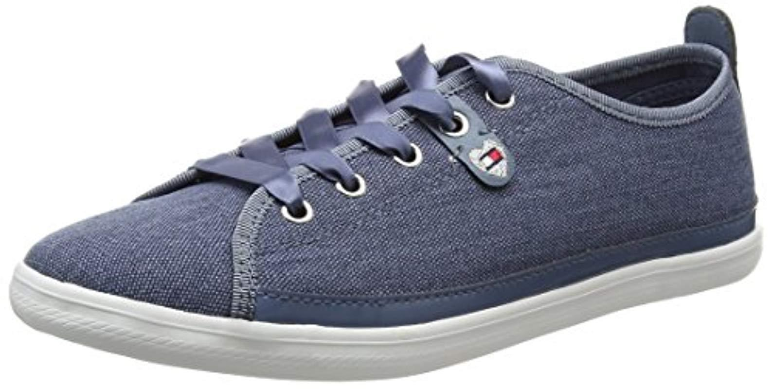 e6b2798193b Tommy Hilfiger K1285eira Hg 1d1 Low-top Sneakers in Blue - Lyst