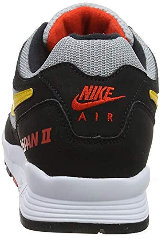 uk availability 55907 fa714 Nike - Air Span Ii Gymnastics Shoes, (black yellow Ochre wolf Grey. View  fullscreen
