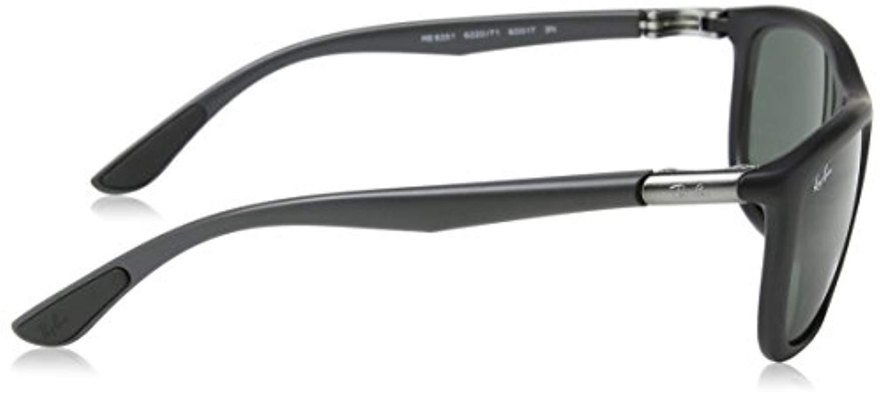 2dc8f9282e Ray-Ban Sonnenbrille (rb 8351) in Black for Men - Lyst