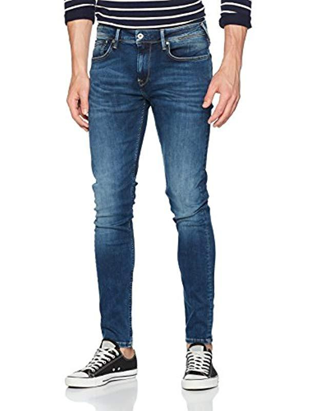 73fca1e1049 Pepe Jeans Finsbury Pm200338 Skinny Jeans in Blue for Men - Save 53 ...