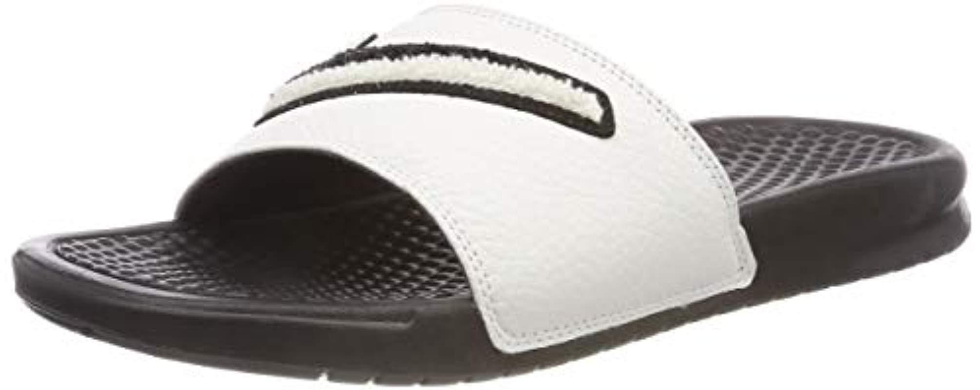 9082c1548143e2 Nike  s Benassi Jdi Chenille Beach And Pool Shoes in Black for Men ...