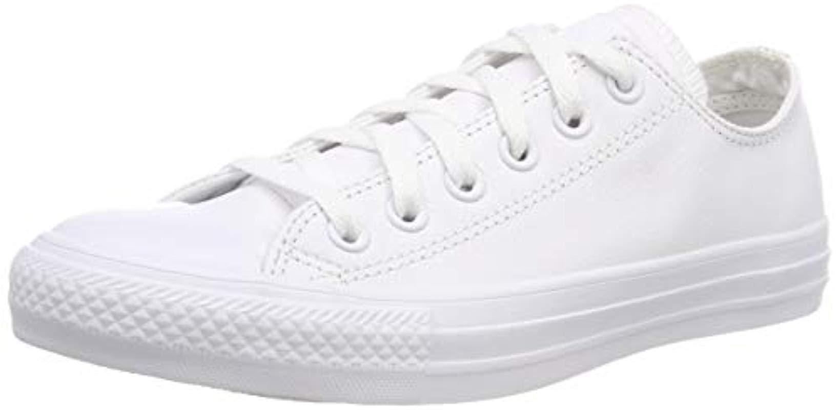 08091fbae9ad Converse Chuck Taylor All Star Oxford Fashion Sneaker in White - Lyst