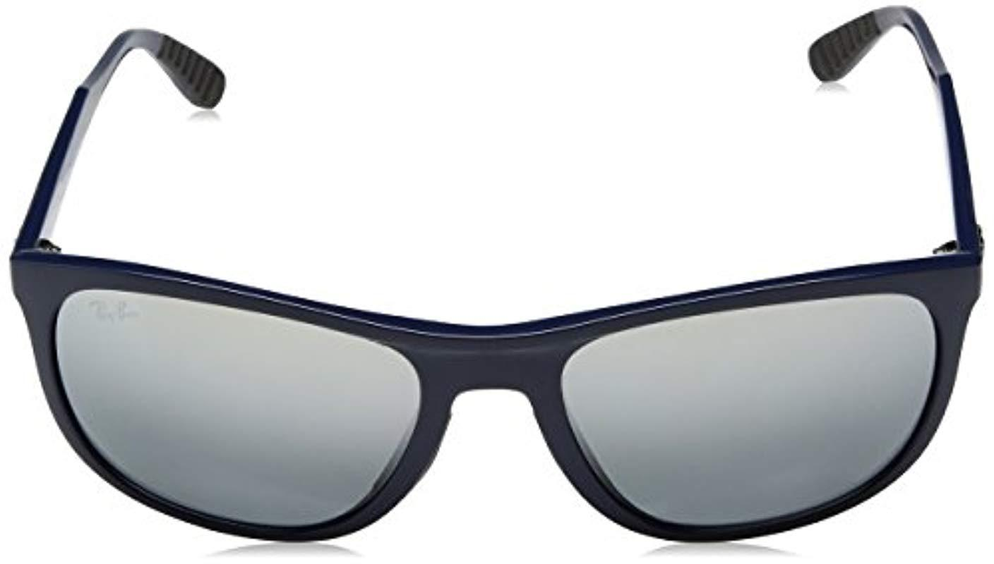 e8b9ce7c00 Ray-Ban - Classic Square Sunglasses In Blue Rb4291 619788 58 for Men -  Lyst. View fullscreen