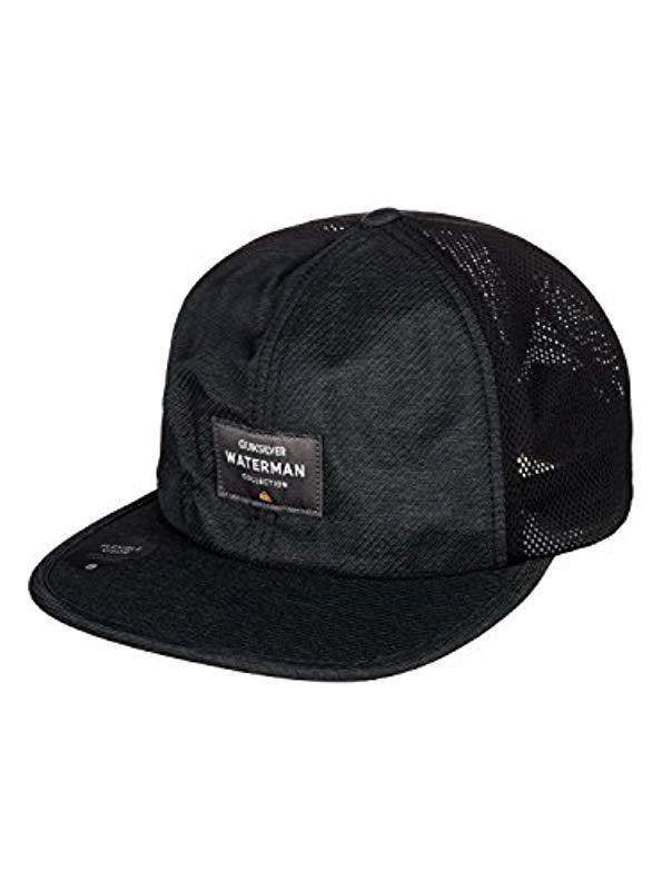 Quiksilver. Men s Black Surf Runner Hat acf7ec9f07e1