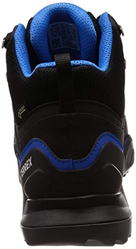 f36c8f8d722754 Adidas - Black Terrex Swift R2 Mid Gtx High Rise Hiking Boots for Men -  Lyst. View fullscreen