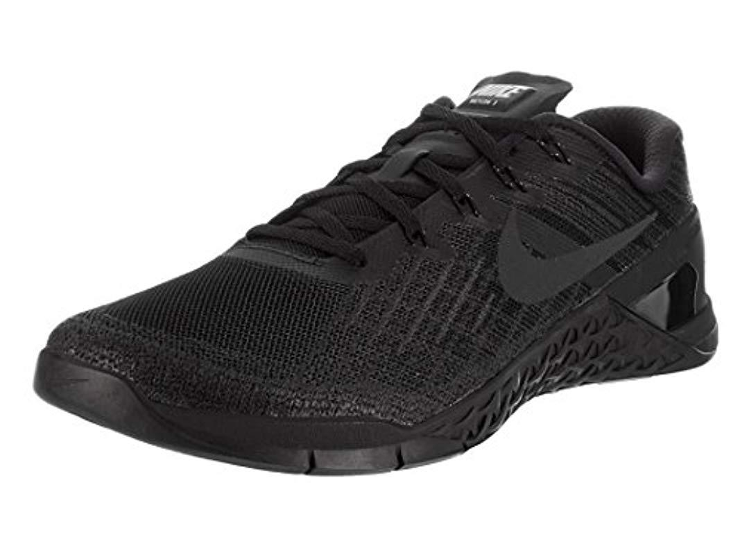 e27f8355d50bab Nike   s Metcon 3 Gymnastics Shoes in Black for Men - Lyst