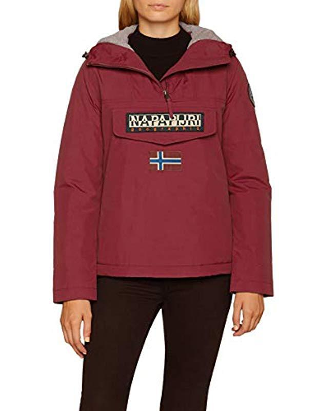 72f5cfb97e9 Napapijri Rainforest Pocket Jacket in Red - Save 25% - Lyst