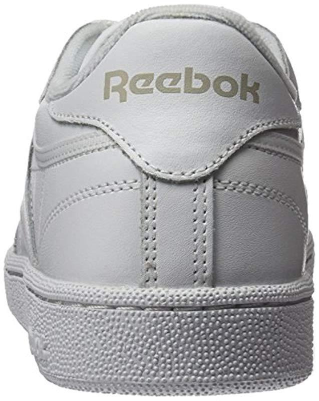 8e8307e84ea Reebok Club C 85 Gymnastics Shoes in White - Save 11% - Lyst