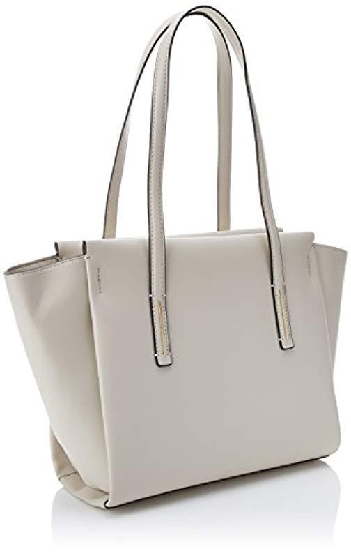 14411eddff Calvin Klein - White Frame Medium Shopper Tote - Lyst. View fullscreen