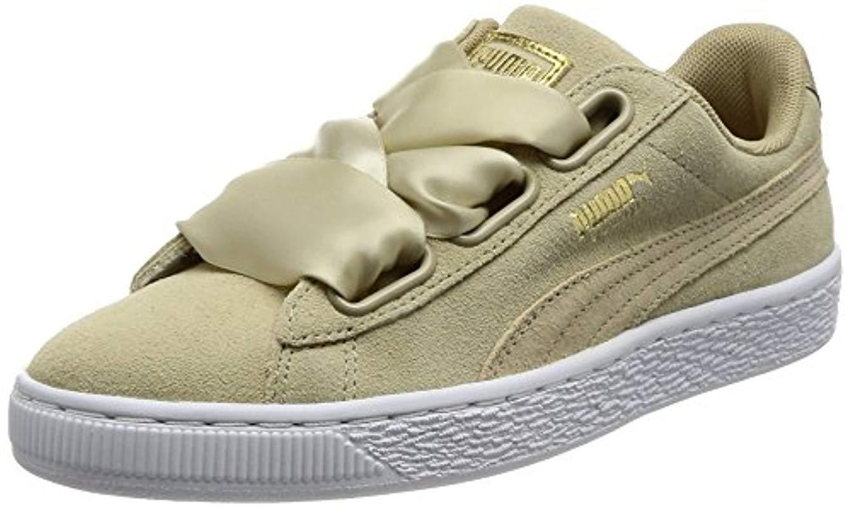 b6327bb2a56 PUMA Suede Heart Safari Low-top Sneakers in Natural - Lyst