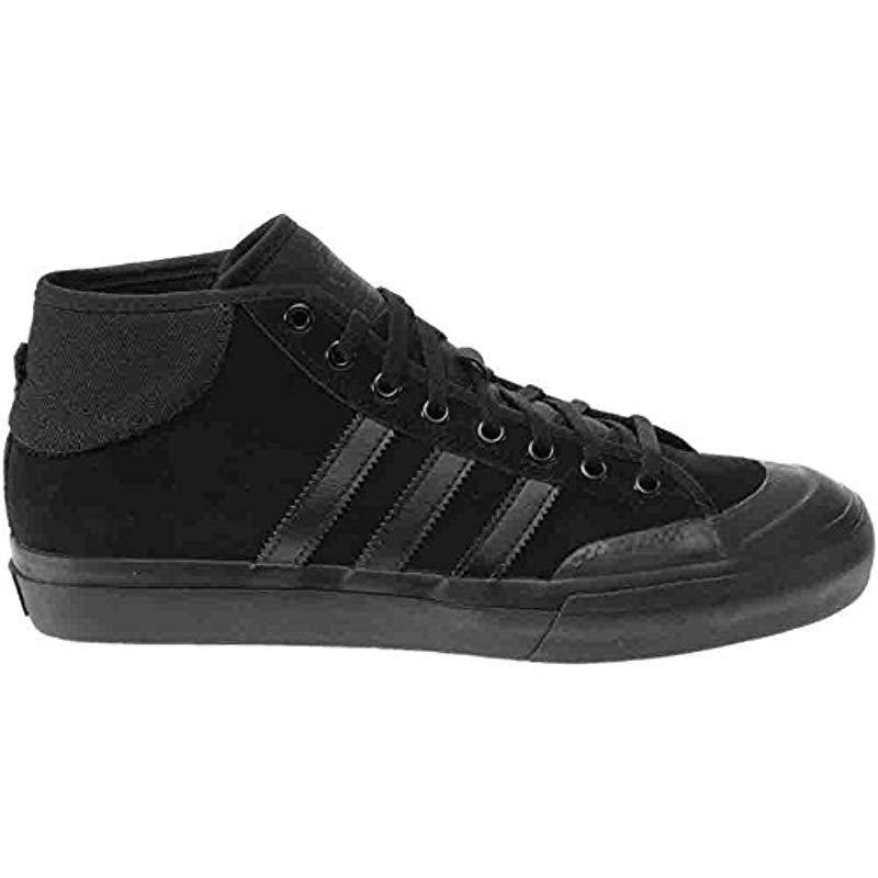 best website 62ba0 90c69 Adidas Originals - Black Adidas Matchcourt Mid Fashion Sneaker for Men -  Lyst. View fullscreen