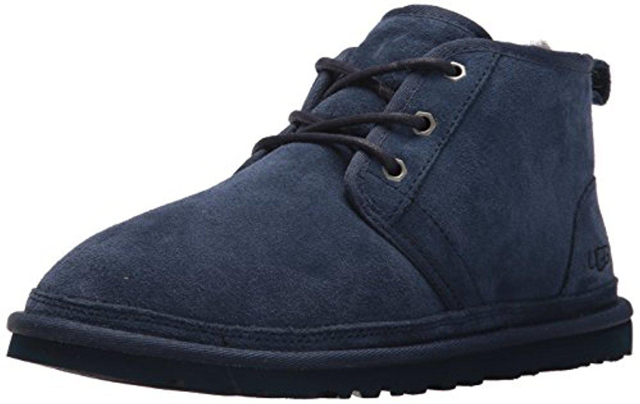 UGG. Men's Blue Neumel Chukka Boot