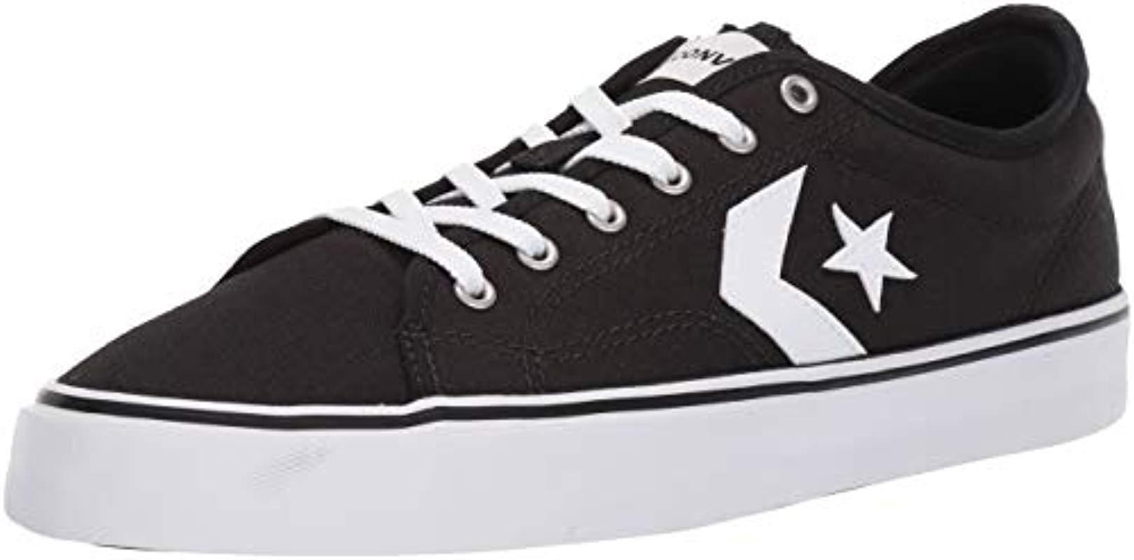White Unisex Star Replay Low Top Sneaker