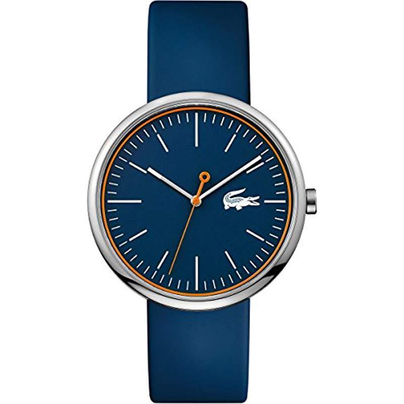 Montre Pour Lyst En Coloris Bleu Lacoste Homme Y7vfy6Ibg
