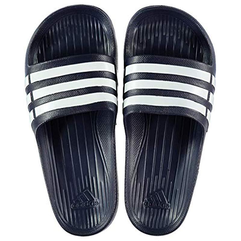 finest selection 98a6c 01f87 adidas. Blue Unisex Adult Duramo Slide Open Toe Sandals
