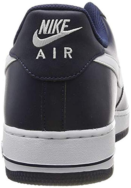 a04dde2ec Nike - Blue Air Force Sneakers for Men - Lyst. View fullscreen