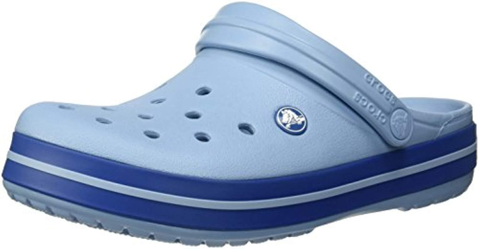 d73defb04 Lyst - Crocs™ Unisex Adults  Crocband U Clogs in Blue for Men