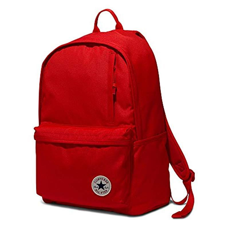 522bb368740 Lyst - Converse Chuck Taylor Patch Backpack In Red in Red for Men ...