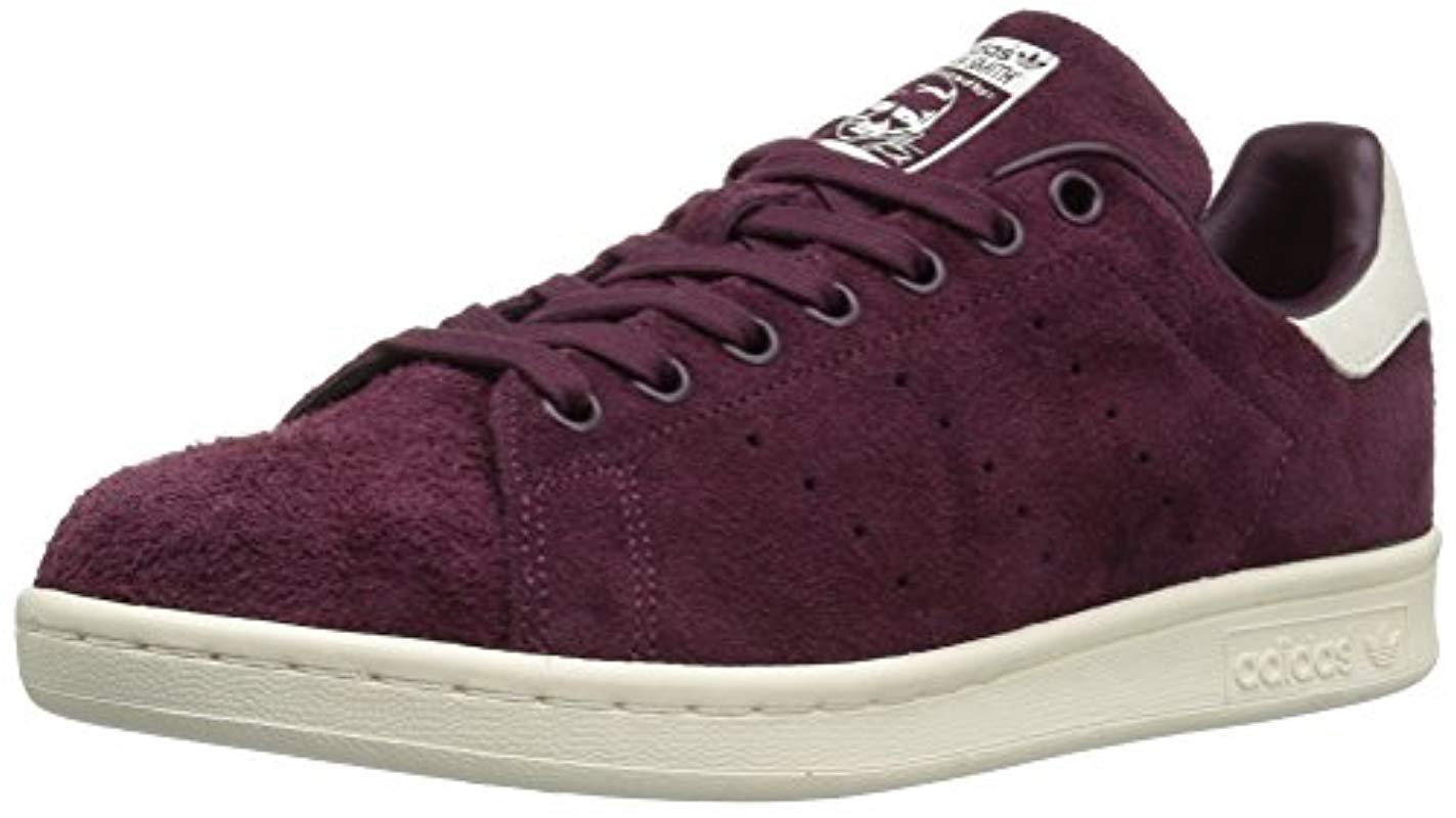 timeless design d6347 57014 adidas Originals. Men s Purple Stan Smith Fashion Running Shoe