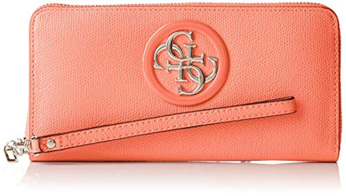 77f5e0a805 Guess. Women's Open Road Slg Large Zip Around Wallet