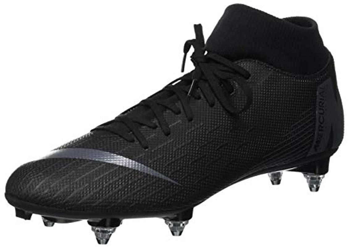 fea756c9ed Nike Unisex Adults  Superfly 6 Academy Sg Fitness Shoes in Black for ...