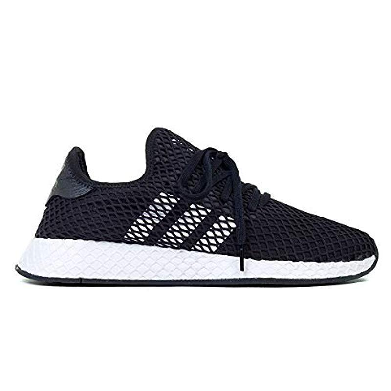 9c218df0bd4f9 adidas Deerupt Runner Gymnastics Shoes in Black for Men - Lyst