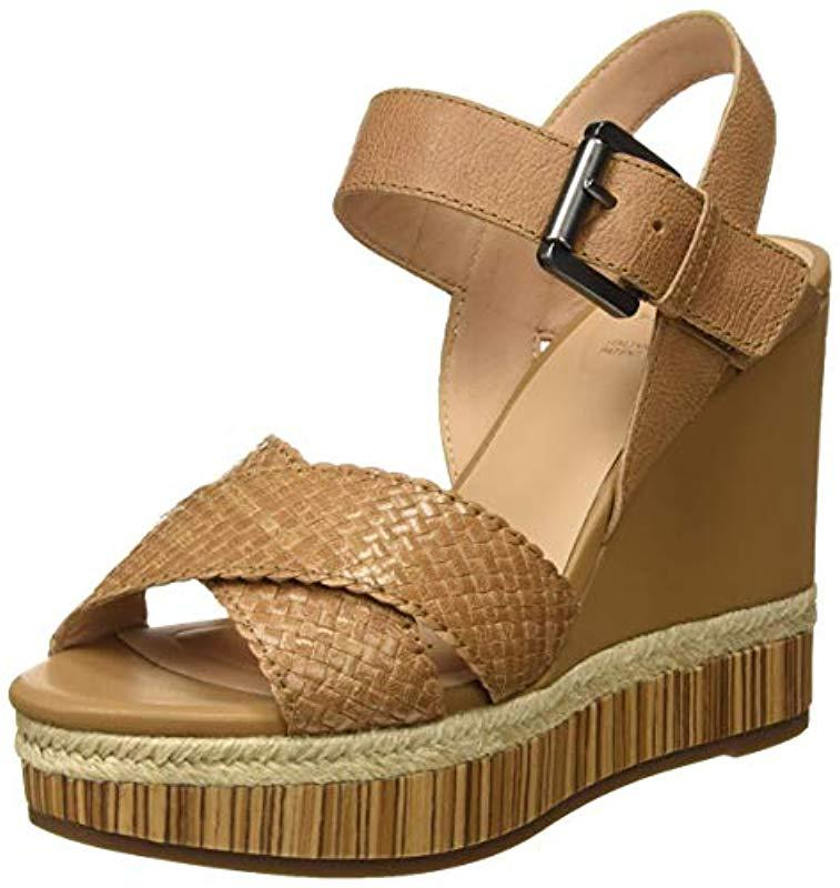 618fb89a206 Geox D Yulimar C Open Toe Sandals in Brown - Lyst