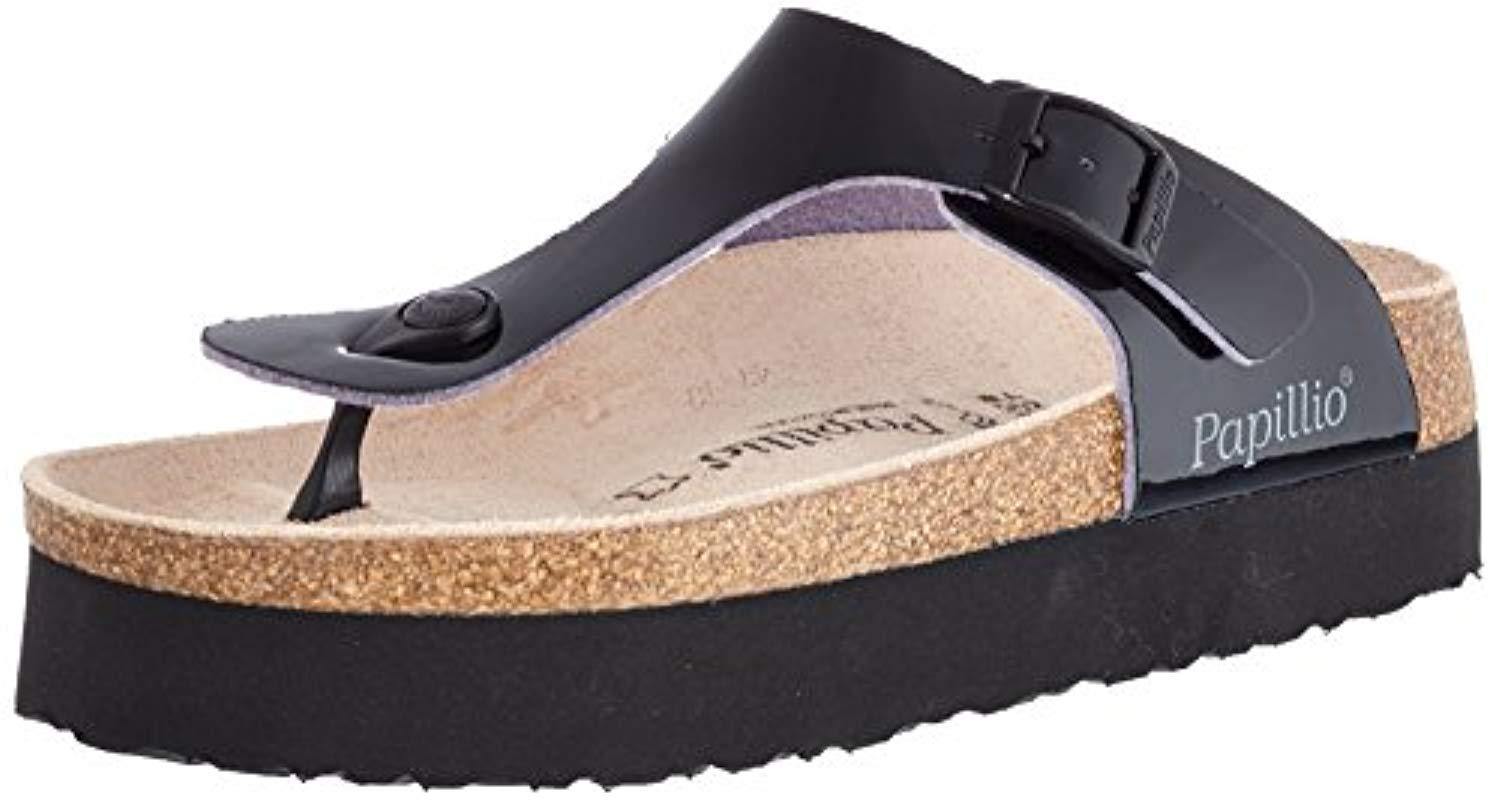 00fd2c52804 Birkenstock Unisex Adults  Gizeh T-bar Sandals in Black - Save 11 ...