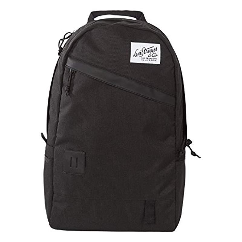 a4d9391eee155 Lyst - Levi S Adult Backpack in Black for Men