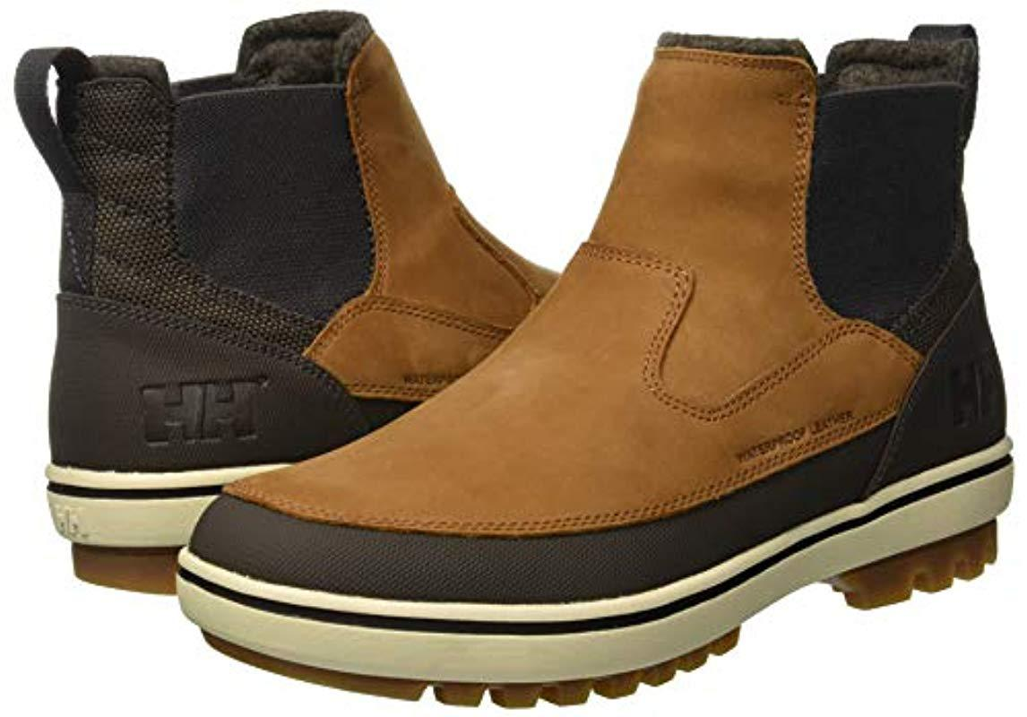 5d1543561a9f6 Helly Hansen Garibaldi V3 Slip-on Snow Boots in Brown for Men - Lyst