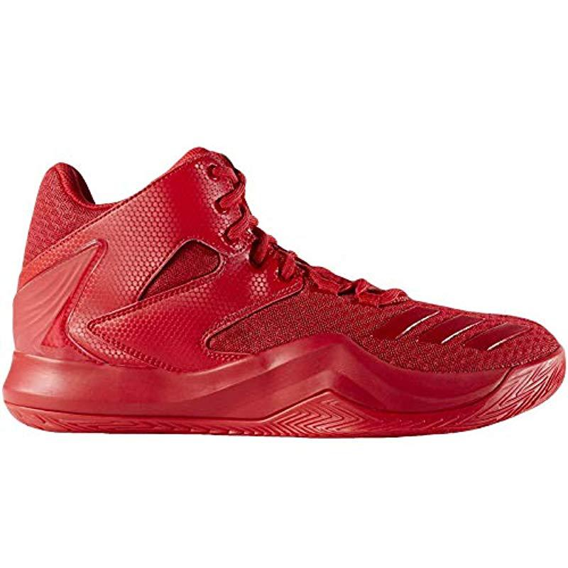 the latest 14999 1278a adidas D Rose 773 V Basketball Shoes in Red for Men - Lyst