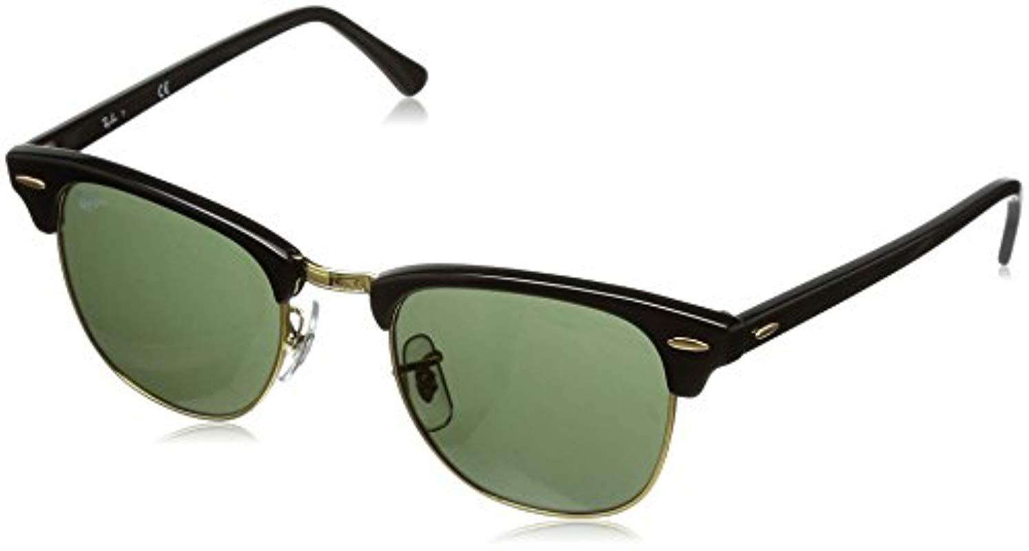 1d10fced4e Ray-Ban Sonnenbrille Clubmaster (rb 3016) in Black for Men - Lyst