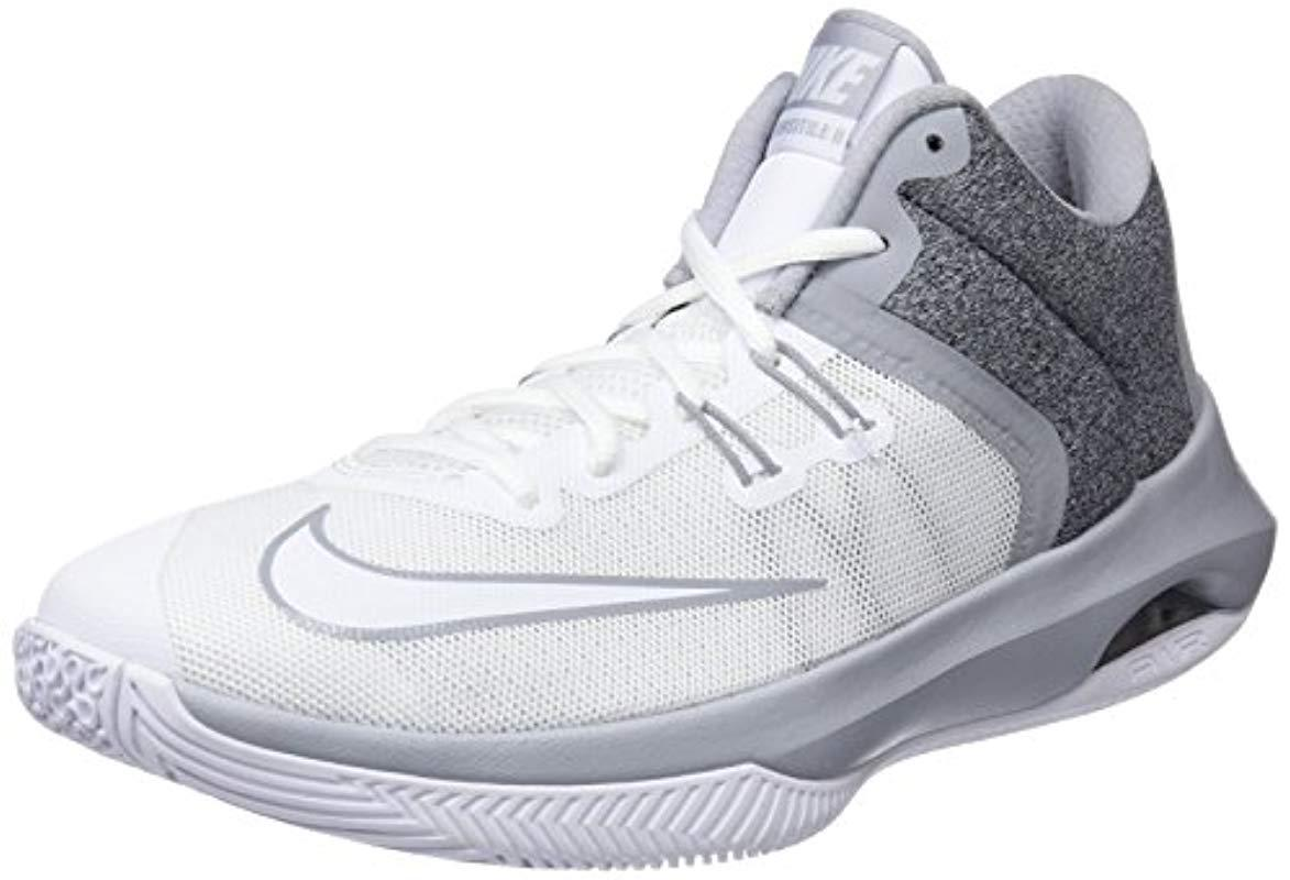 outlet store abee2 b6619 Nike Air Versitile Ii Nbk Basketball Shoe in White for Men - Lyst