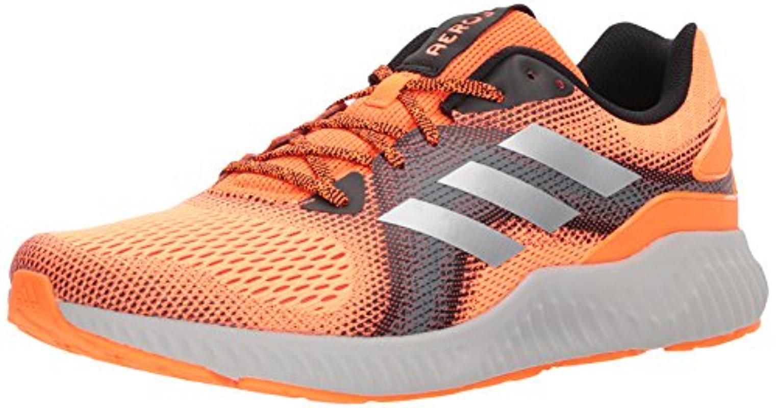 lyst adidas originals aerobounce st m laufschuh für männer in orange