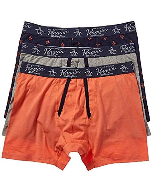 6fe65da372c3 Original Penguin. Men's Cotton Stretch Boxer Brief Underwear ...