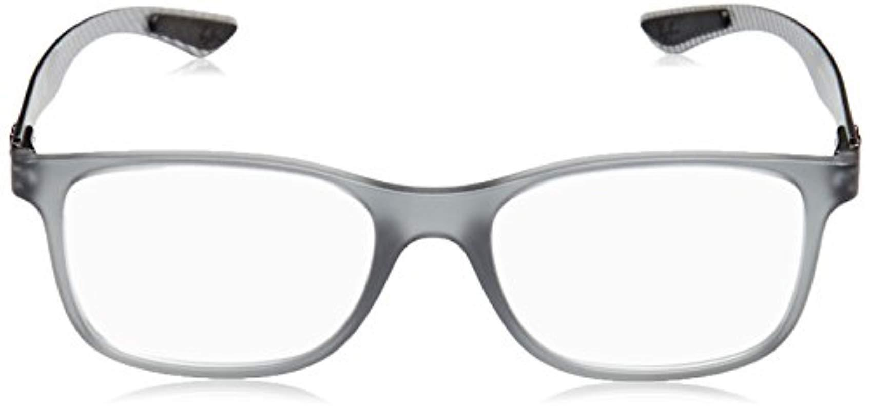 912d970998 Ray-Ban - Gray 0rx 8903 5244 55 Optical Frames