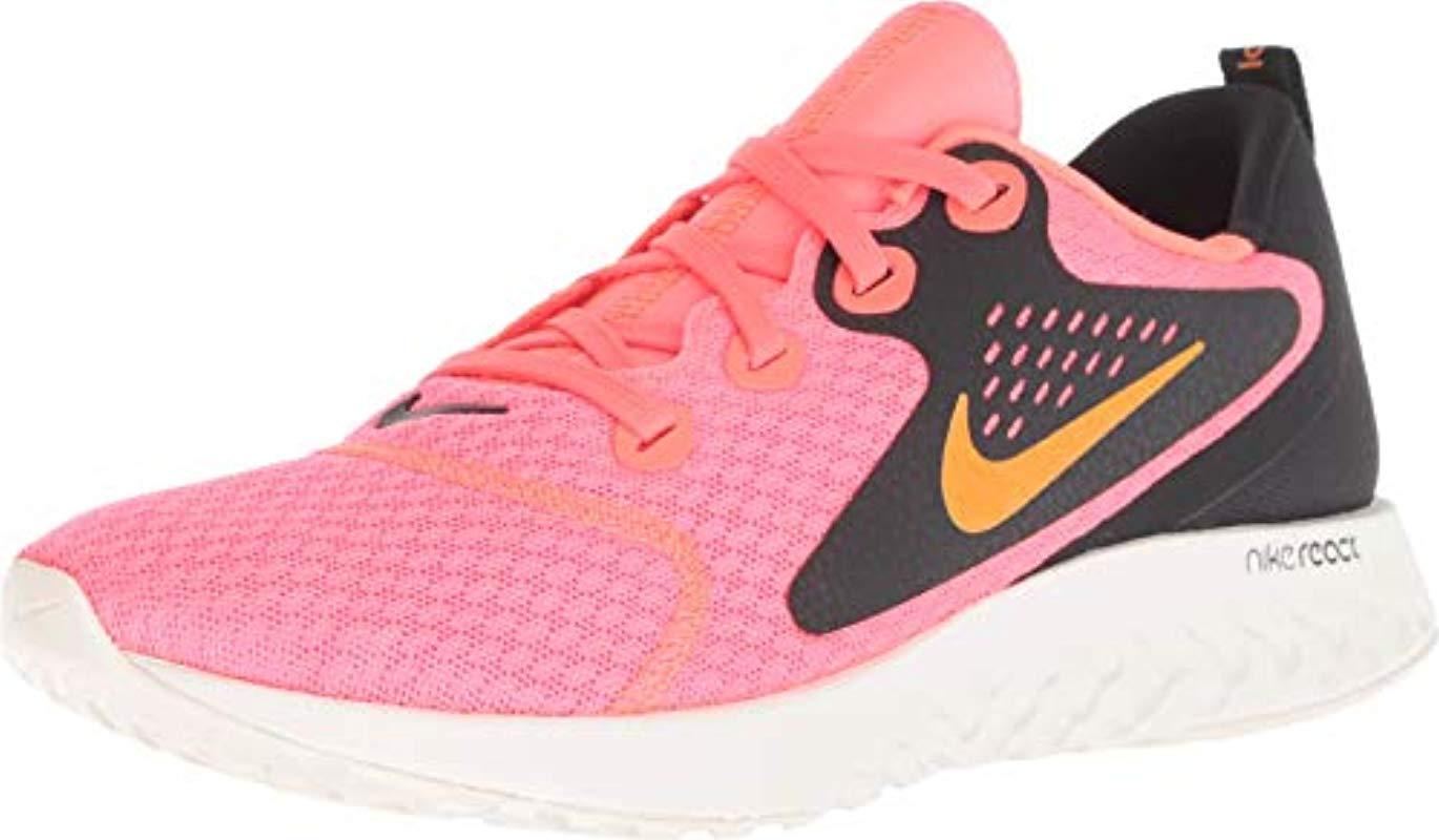 separation shoes 48c91 0b3c4 Nike. Women s Pink Wmns Legend React Competition Running Shoes