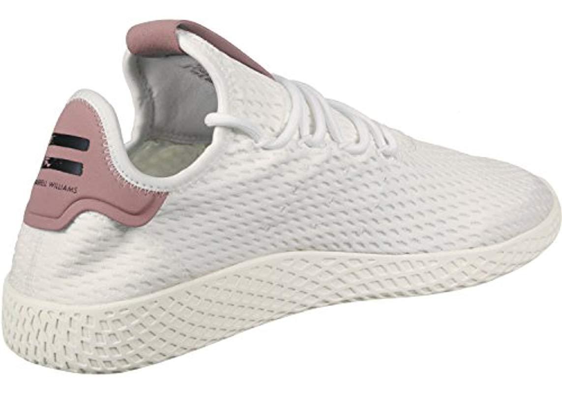 Adidas' pw tennis hu fitness scarpe, gris in bianco per gli uomini lyst
