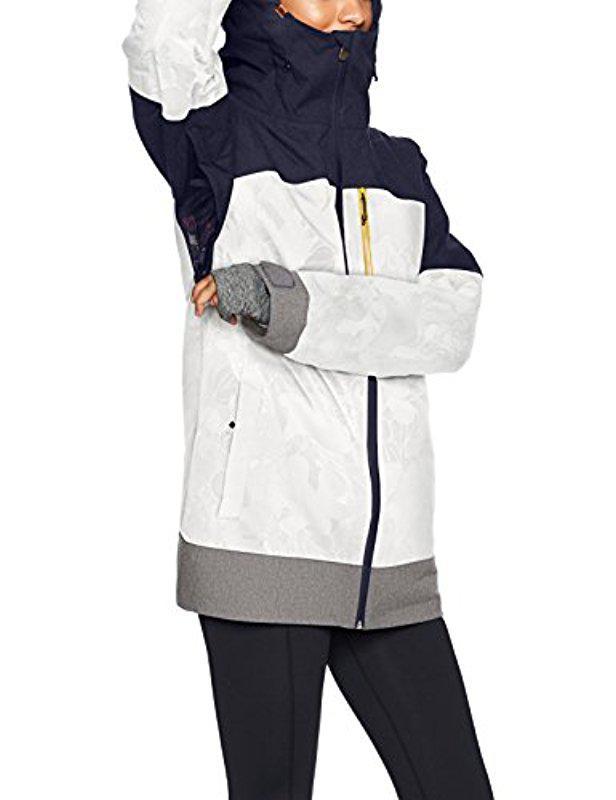 9b78d601a Lyst - Roxy Torah Bright Stormfall Snow Jacket