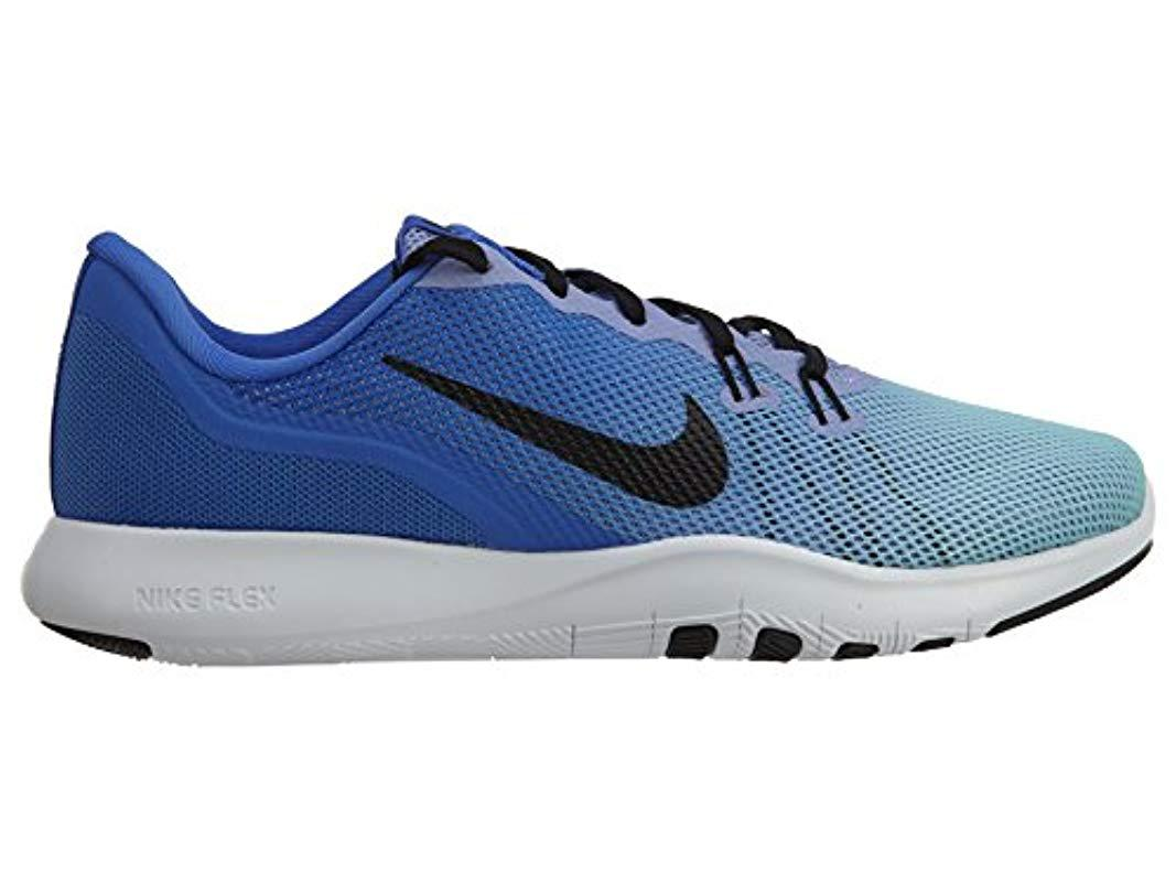 4093c1250d8b Nike - Blue Flex Trainer 7 Cross - Lyst. View fullscreen