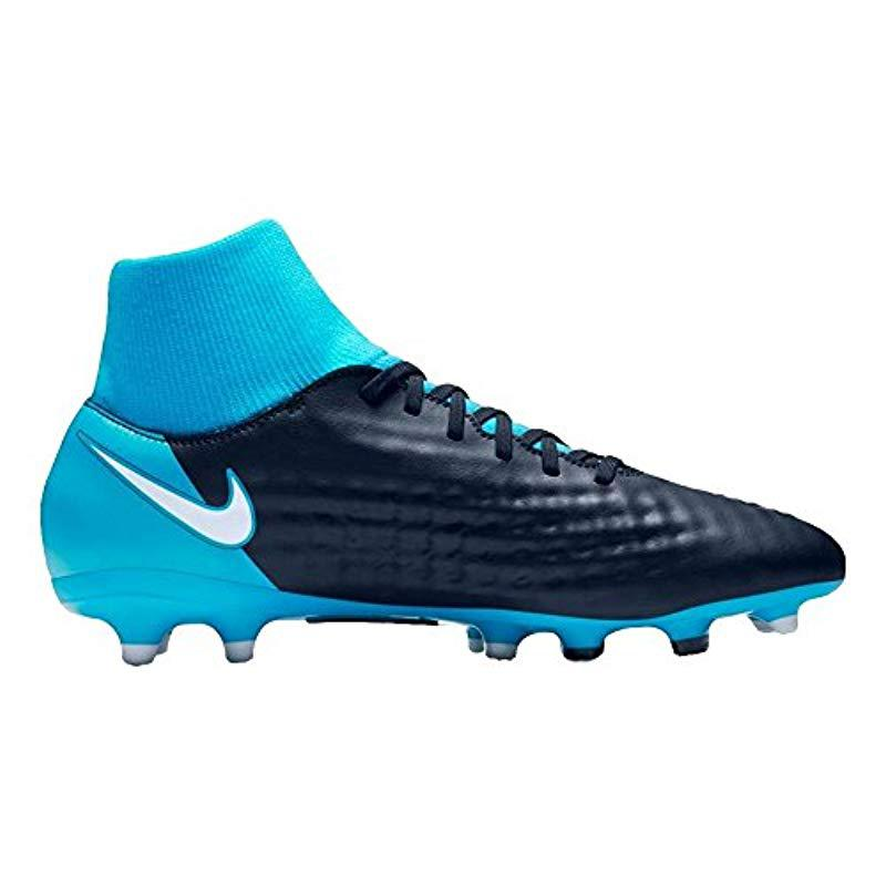 c2756f5feb9e Nike - Blue Magista Onda Ii Df Fg Football Boots for Men - Lyst. View  fullscreen