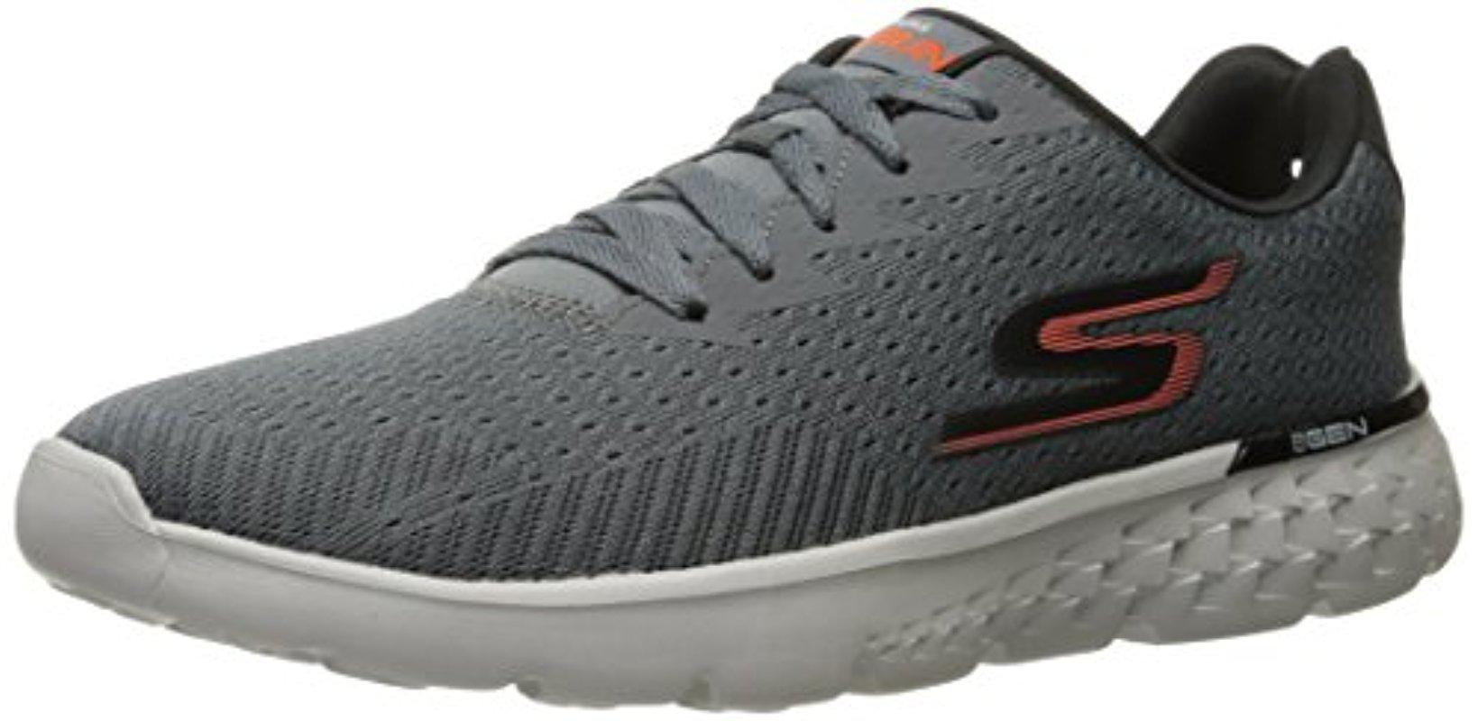 514506b805ac8 Skechers Performance Go Run 400 Disperse Running Shoe in Gray for ...