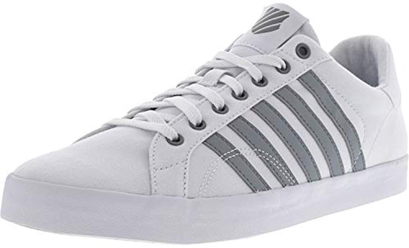 2f9e7c12e4fb77 Lyst - K-Swiss Belmont So T Fashion Sneaker in Gray for Men
