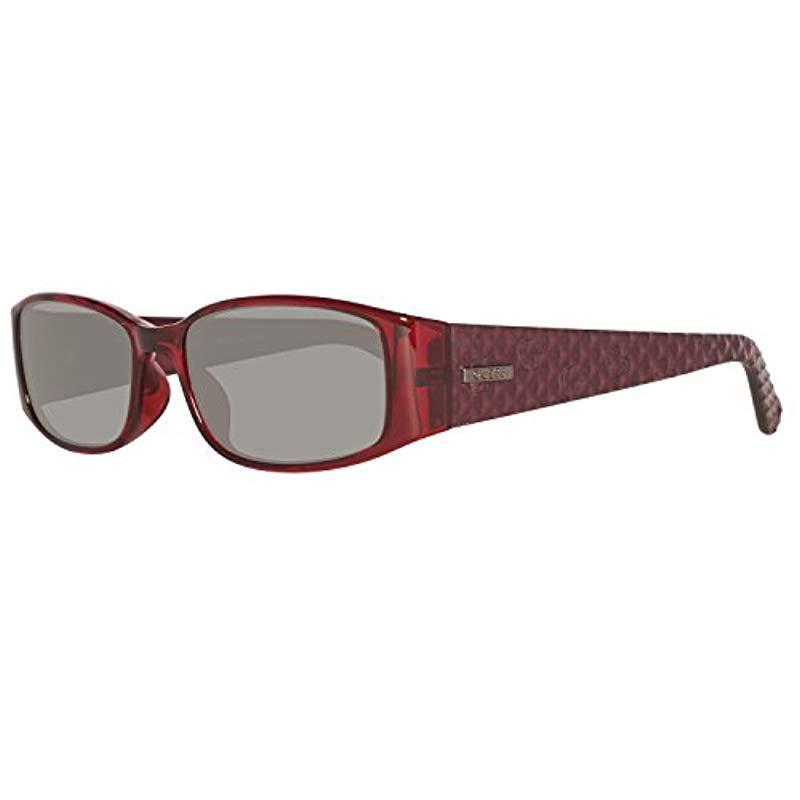 1b980c82d9 Lyst - Mujer Sun GU 7259 F63-55 -16-0 Gafas de sol, Rojo (Red), 55 ...