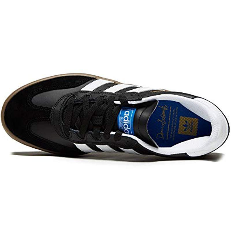 9d03d13bbb4b Adidas Originals - Black Busenitz Vulc Adv Fashion Sneaker for Men - Lyst.  View fullscreen