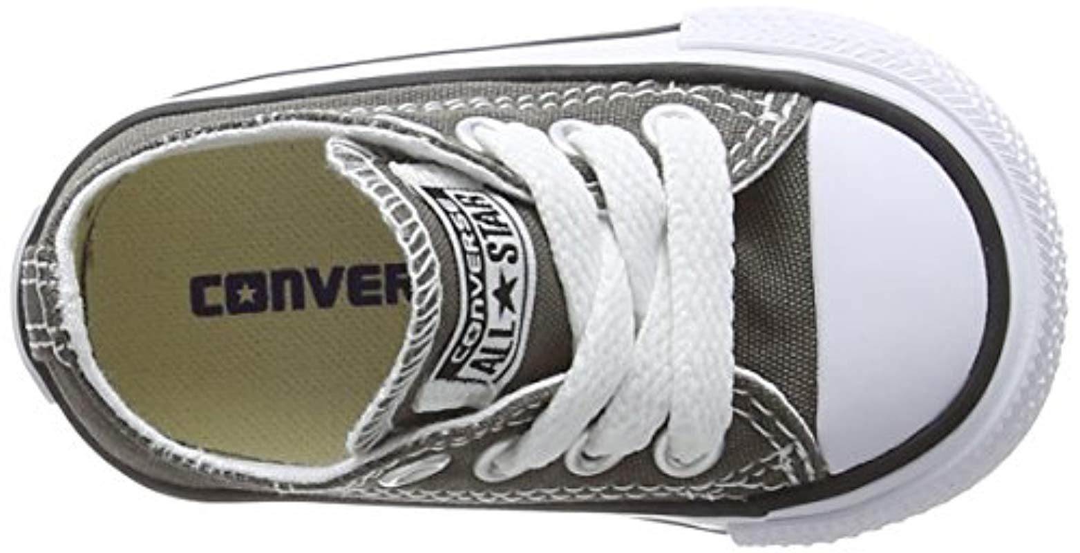 ada6c75d41e5d5 Converse Unisex Babies  Chuck Taylor Ct As Sp In Ox Canvas Slippers ...