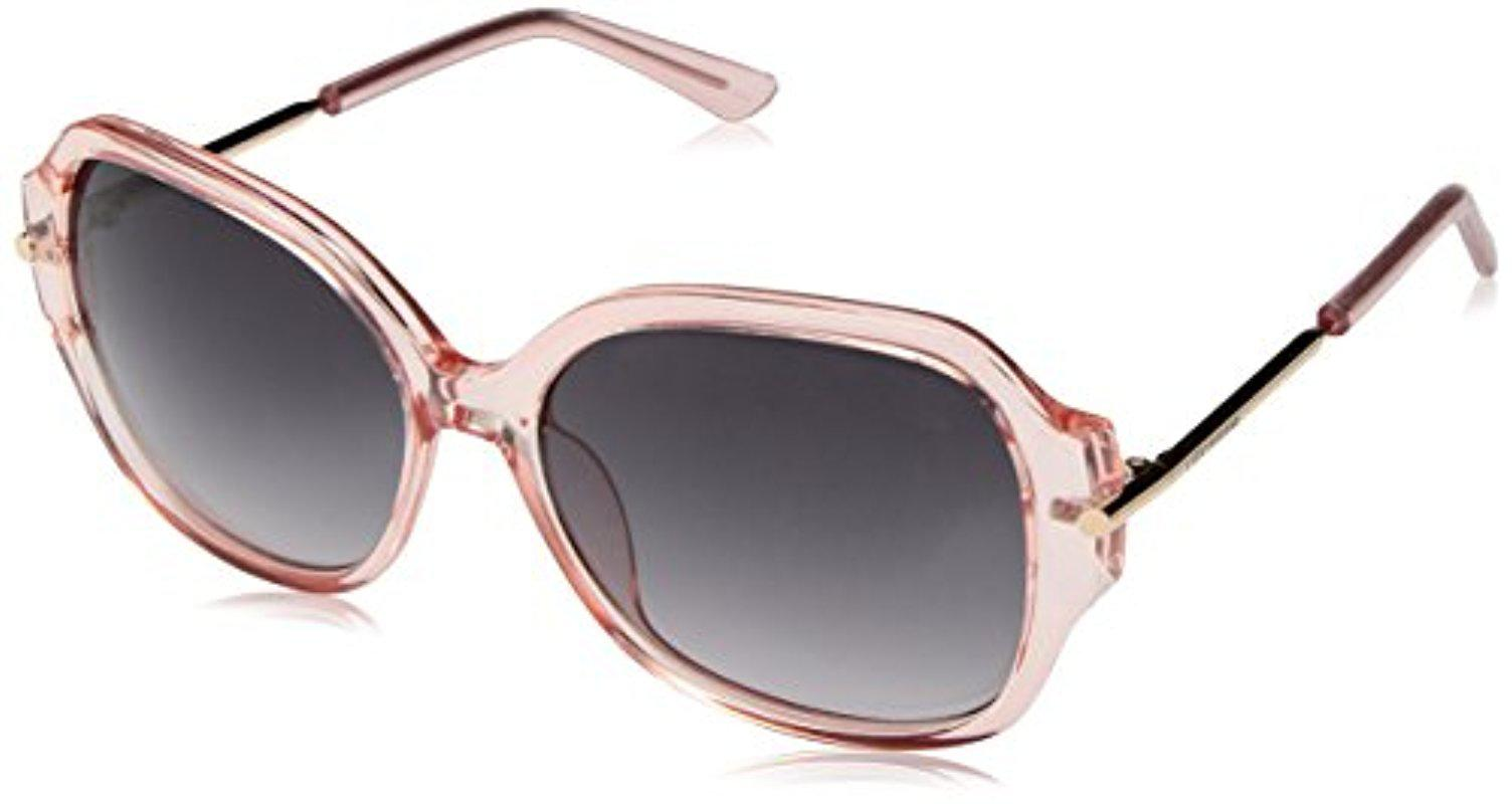 d09e8a3e36 Lyst - Lucky Brand Lucky Bevepin59 Round Sunglasses