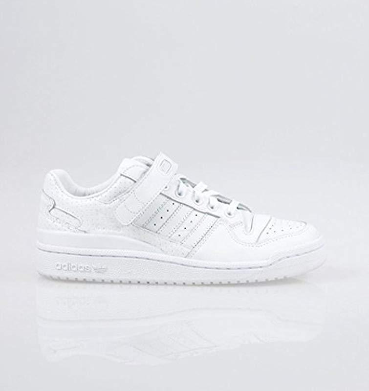 uk availability cfff1 69a91 adidas. Womens White Originals Forum Low ...