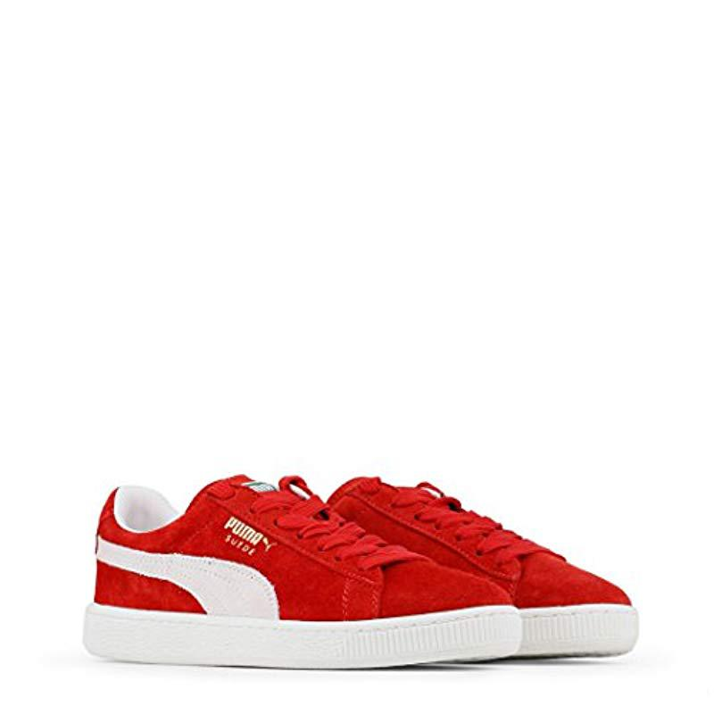 d2f0fb14b33 PUMA - Red Unisex Adults  Suede Classic + Sneakers for Men - Lyst. View  fullscreen